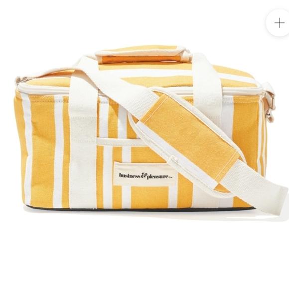 BRAND NEW GWP COOLER BAG - YELLOW STRIPE